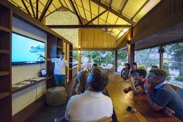 L'hôtel abrite un centre de conservation, une mine d'informations sur la nature qui vous entoure