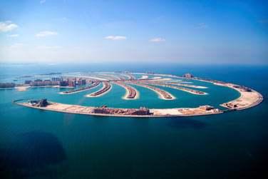 Palm Island, projet fou de Dubaï est une île artificielle en forme de palmier !