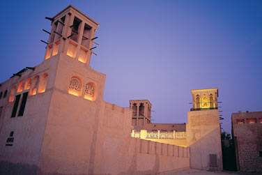 Le quartier du Vieux Dubaï vous plonge dans le Dubaï d'il y a 50 ans...