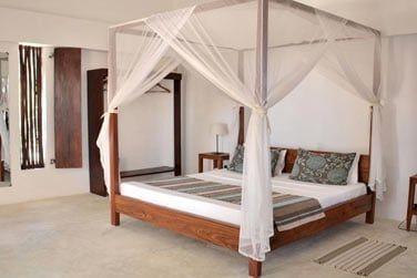 La chambre confortable et épurée