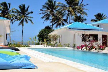 L'hôtel Indigo beach à Zanzibar