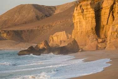 Une région très préservée au cœur de la réserve naturelle de Ras Al Hadd