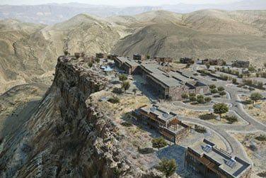 L'hôtel Alila Jabal Akhdar et son site d'exception