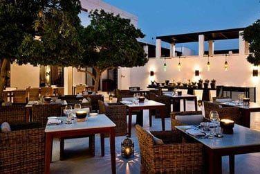 The Arabian Coutyard pour une soirée en plein air