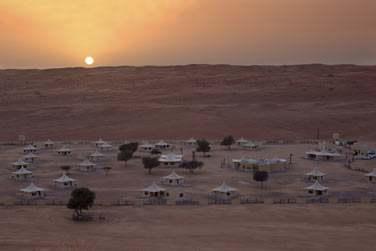 Vous séjournerez dans un campement de luxe au coeur des dunes
