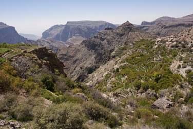 Puis route vers les montagnes du Massif du Hajjar