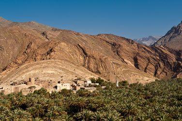Misfat, un village avec d'impressionnantes terrasses agricoles