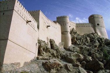 Le fort de Nakhl, le plus grand du sultanat