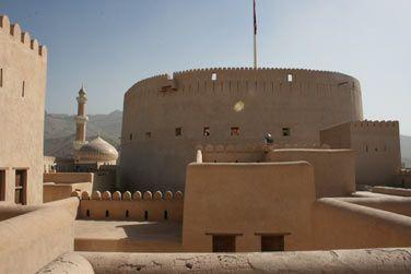 Visitez le fort de Nizwa, au cœur des montagnes