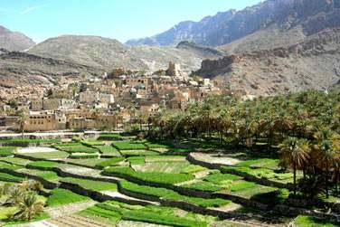 Jabal Akhdar, un site magnifique !