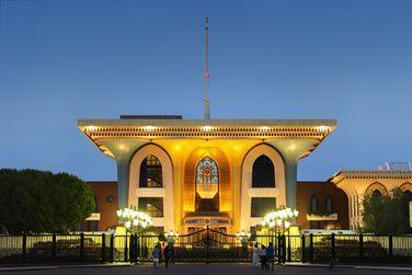 Le palais Al Alam, résidence officielle du Sultan