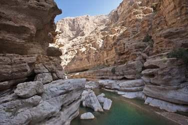 Vous découvrirez les oueds (wadis)...