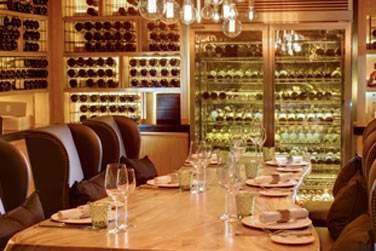 La cave à vins 'Roubens' au restaurant Mercado