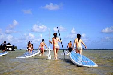 L'établissement propose de nombreuses activités nautiques...
