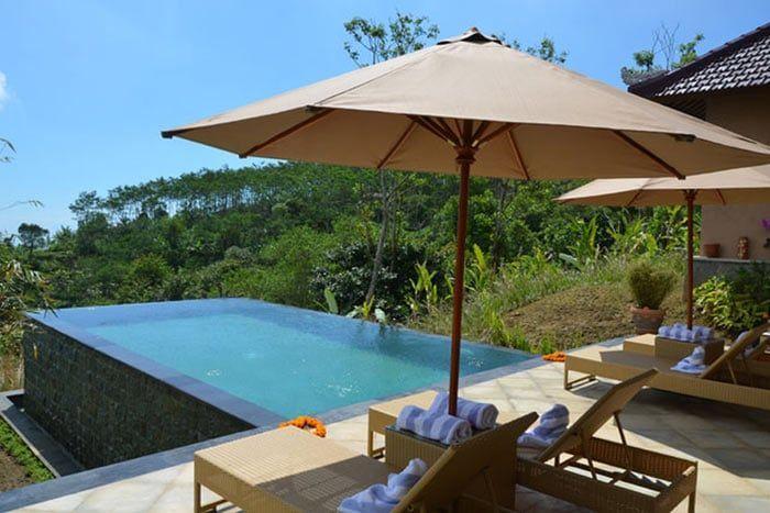 villa 2 chambres avec piscine