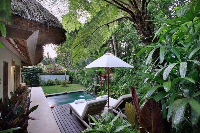 villa sunia avec piscine privée