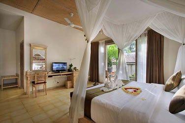 La Suite Nandini avec vue sur les jardins tropicaux