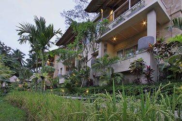 ... lovées au coeur de magnifiques jardins tropicaux.