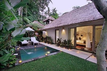 Découvrez les villas avec piscine privée!