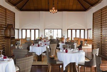 Restaurant The Pavilion, rencontre entre le Moyen-Orient et la méditerranée