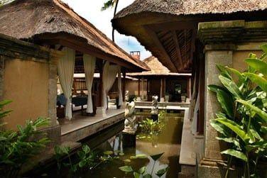 Le Jaya Spa, conçu dans le respect de la tradition balinaise..