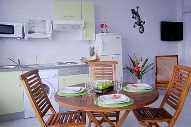La Villa Melissa possède 17 appartements modernes et confortables