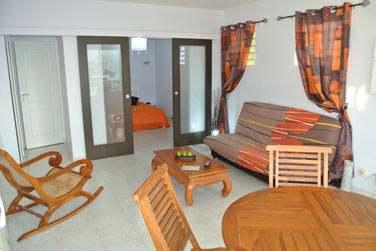 Les appartements sont décorés avec goût. Un hébergement idéal pour profiter de votre séjour en Martinique