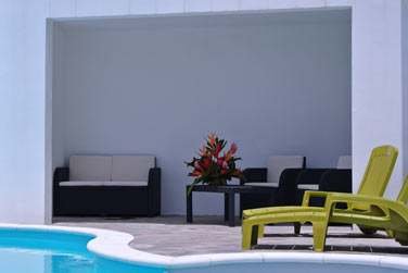 La Villa Melissa possède une piscine... De quoi lézarder après une belle journée de découverte