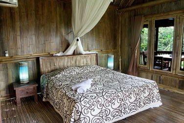 Sa chambre à la décoration authentique