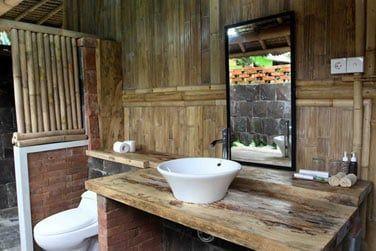Sa belle salle de bain