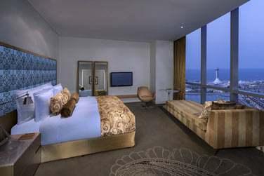 La chambre Deluxe Club avec lit king size
