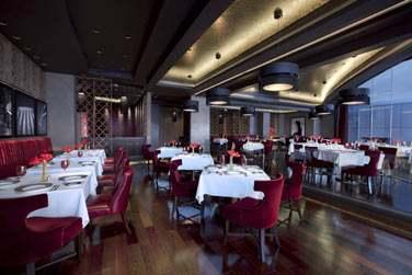 Le restaurant Li Beirut avec vue panoramique...