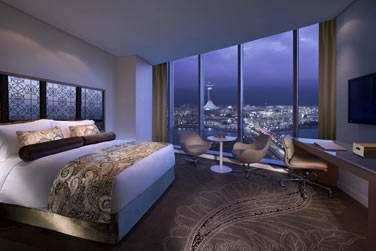 La chambre Deluxe avec lit queen size