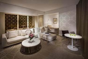 Le salon de la Suite Club