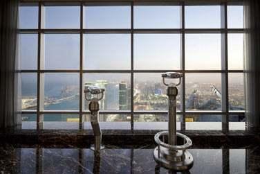 L'hôtel possède une terrasse d'observation d'où vous pourrez admirer la vue sur la ville et la mer !