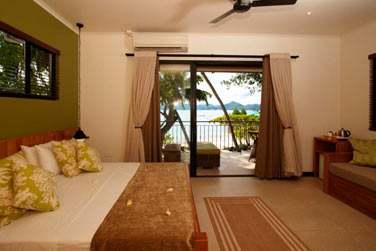Les chambres sont spacieuses et décorées avec goût