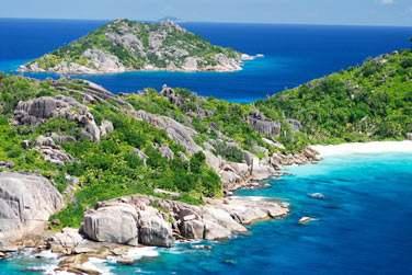 Bienvenue sur la petite île de la Digue aux Seychelles