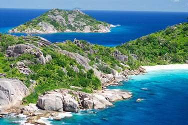 Bienvenue à La Digue, petite île de l'archipel des Seychelles