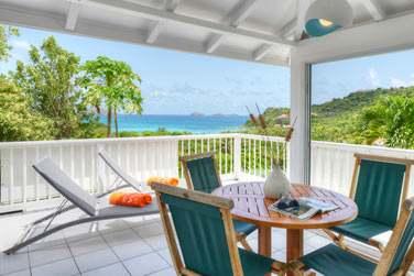 La spacieuse terrasse du Cottage Standard Terrasse