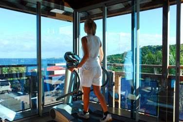 ... avec vue panoramique sur la baie de Saint Jean !