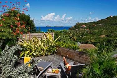 La terrasse du cottage Standard Jardin
