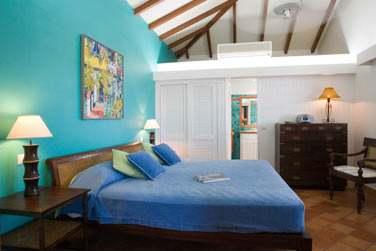Intérieur chambre du Cottage Tradition Terrasse