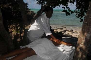 Profitez de votre séjour à Rodrigues pour opter pour un massage en plein air en bord de mer