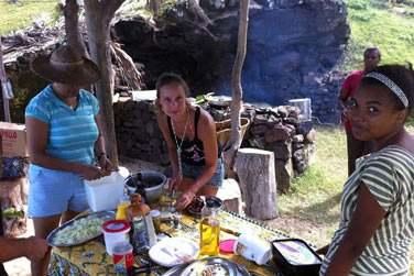 Et surtout, ne manquez pas la cuisine authentique de Rodrigues !