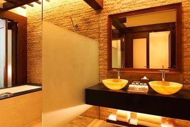 Les salles de bain offrent le plus grand confort