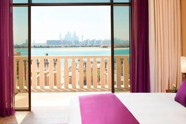 La Suite Prestige offre une vue imprenable sur Dubaï