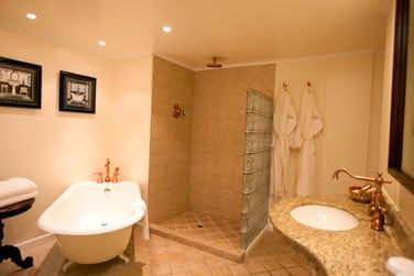 Salle de bain des suites