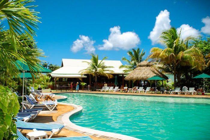 Hôtel Coco Palm 3*, Sainte-Lucie
