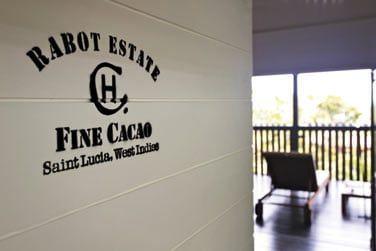 L'hôtel Chocolat a élu domicile au coeur des plantations de Rabot Estate