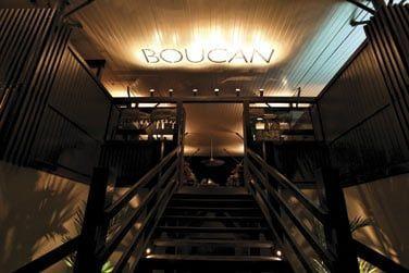Le restaurant Boucan